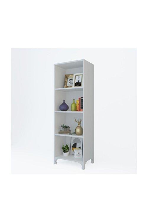 Kenzlife Kitaplık Tuğçe 128*030*020 Byz Ayaklı Mutfak Dolabı Banyo Ofis Ayakkabılık Kiler 1