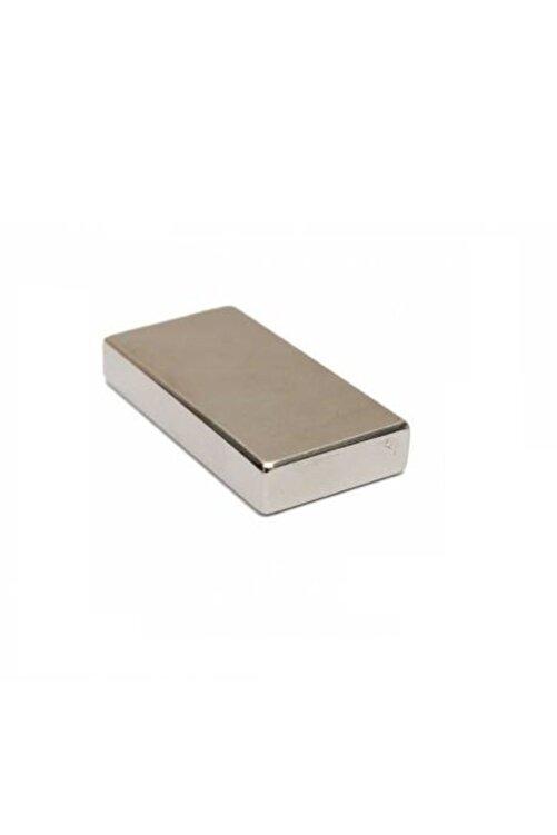 Hdg Çok Güçlü Neodyum Mıknatıs 40x20x5 Mm 2 Adet 1