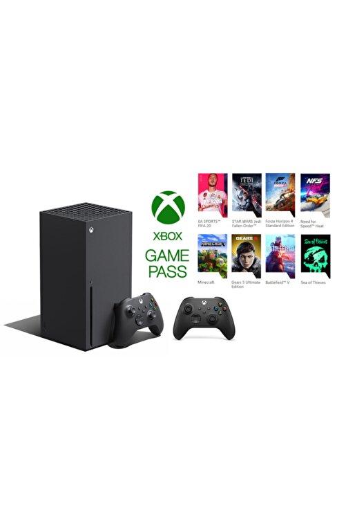 MICROSOFT Xbox Series X 1TB SSD Oyun Konsolu + 1 Kol Siyah + 1 Yıl Live Gold + Gamepass 1