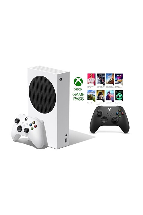 MICROSOFT Xbox Series S 512GB SSD Oyun Konsol + 1 Kol Siyah + 1 Yıl Live Gold + GamePass 1