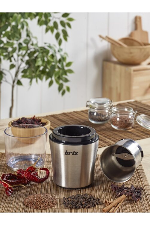 BRİZ Çıkarılabilir Hazneli Kahve ve Baharat Öğütücü 1