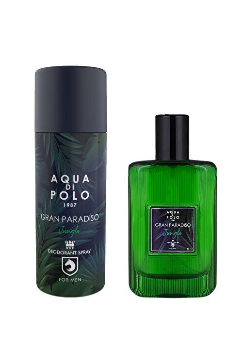Aqua Di Polo 1987 Gran Paradiso Jungle Parfüm Ve Deodorant Seti Stcc005301 1