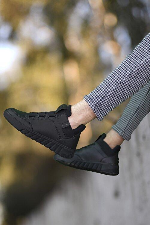 Riccon Siyah Siyah Unisex Sneaker Bot 0012383 2
