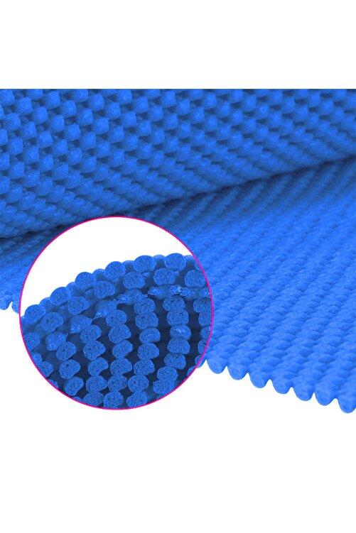 bimbambom Halı Kaydırmaz 3 Adet Mavi, Dolap Içi Kaydırmaz Raf Örtüsü 45x90 Cm 2