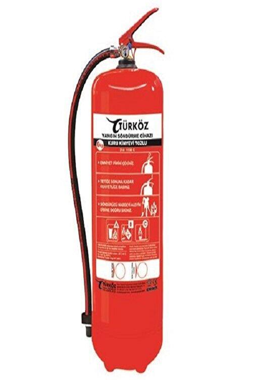 Türköz 6 Kg (KKT) Yangın Söndürme Tüpü ( Askı Aparatı Hediye ) 1