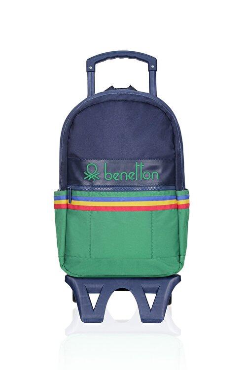 Benetton United Colors Of Çekçekli Okul Çantası 70039 1