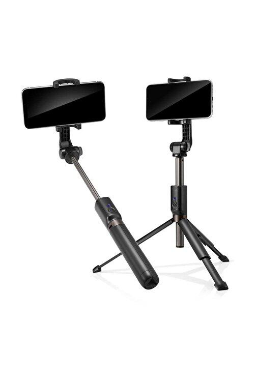 Spigen Tripodlu Ve Kumandalı Bluetooth Selfie Çubuğu, Tüm Cihazlara Uyumlu S540w 1