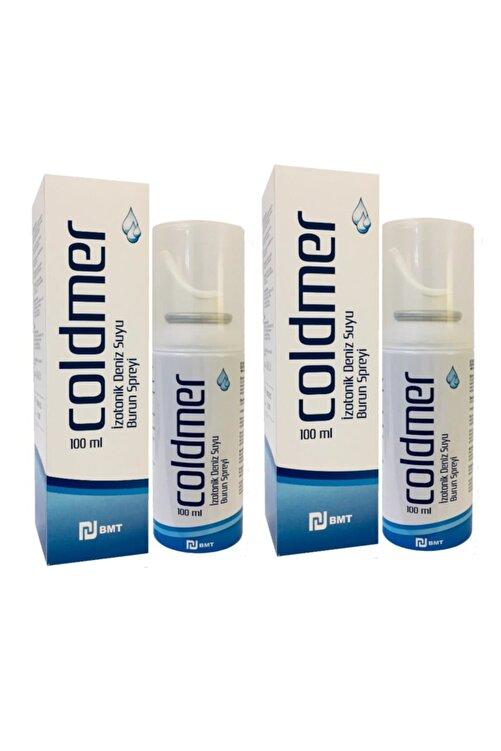 COLDMER Izotonik Doğal Deniz Suyu Burun Spreyi 100 ml 2 Adet 1