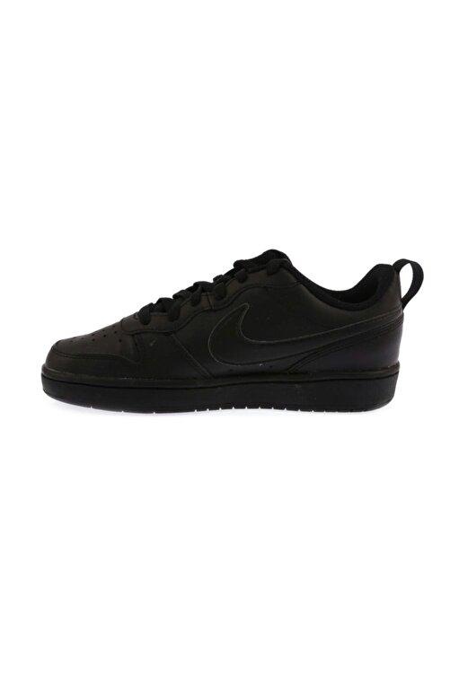 Nike Kadın Siyah Court Borough Low 2  Spor Ayakkabı Bq5448-001 2