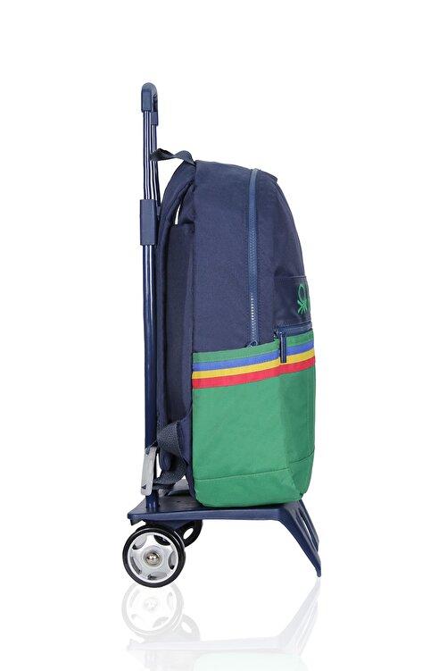 Benetton United Colors Of Çekçekli Okul Çantası 70039 2