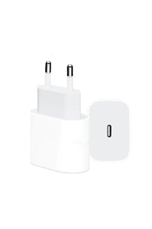 MEGATECH Iphone 11/11 Pro/ Pro Max Uyumlu Hızlı Şarj Aleti Başlığı 18w Adaptör (TYPE-C GİRİŞLİ) Yeni Nesil 2