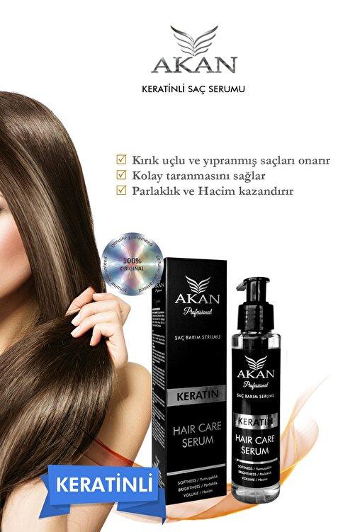 Akan Aşırı Yıpranmış Ve Yavaş Uzayan Saçlar Için Keratin Yağı Ile Zenginleştirilmiş Saç Serumu 125 Ml 2