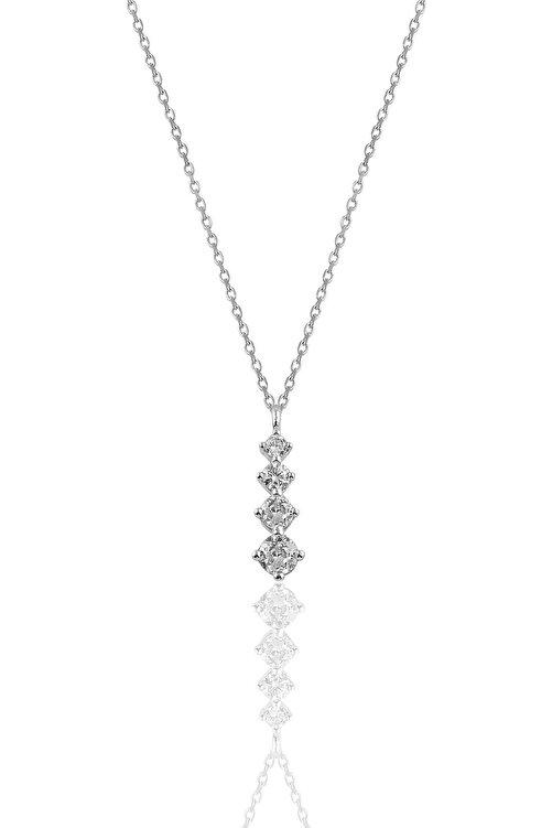 Söğütlü Silver Gümüş Rodyumlu Zirkon Taşlı Işıltılı Ikili Set 2