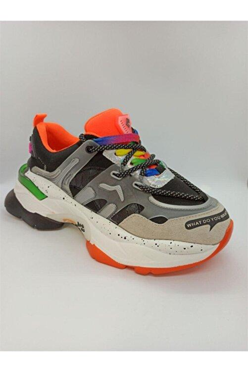 Guja Kadın Siyah Renkli Spor Ayakkabı 20y300-7 1