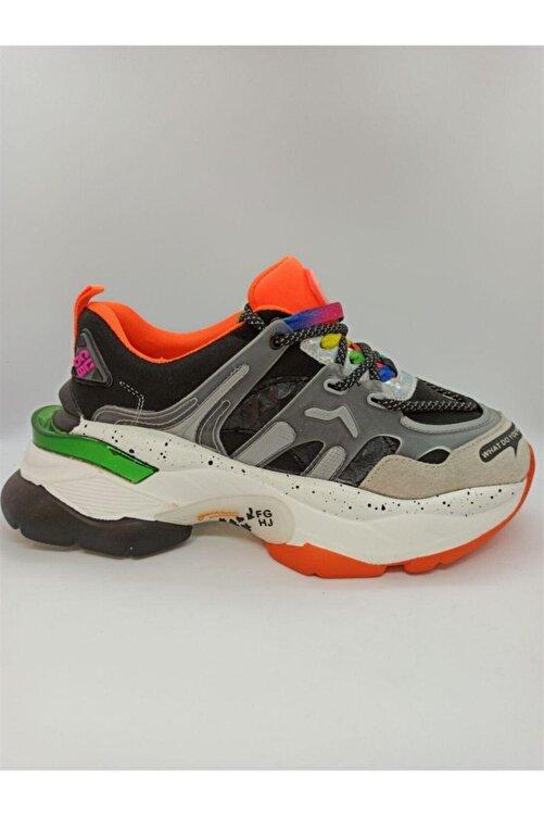 Guja Kadın Siyah Renkli Spor Ayakkabı 20y300-7 2