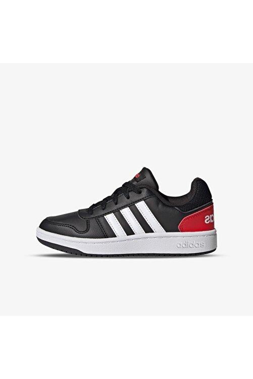 adidas Unisex Çocuk Siyah Basketbol Ayakkabısı Hoops 2.0 K 1