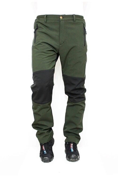 Ysf %100 Su Ve Rüzgar Geçirmez Haki Yeşil Softshell Outdoor Pantolon 1