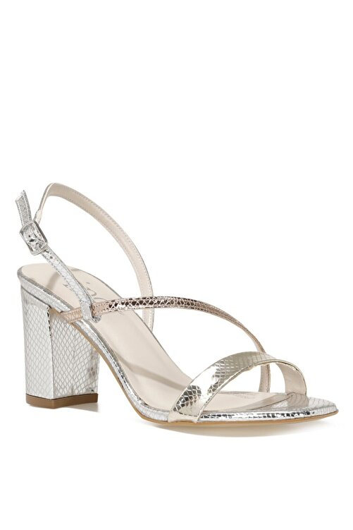 İnci CANNES.Z 1FX Gümüş Kadın Topuklu Sandalet 101038257 2