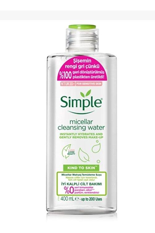Simple Micellar Makyaj Temizleme Suyu Kind To Skin 400 ml 1