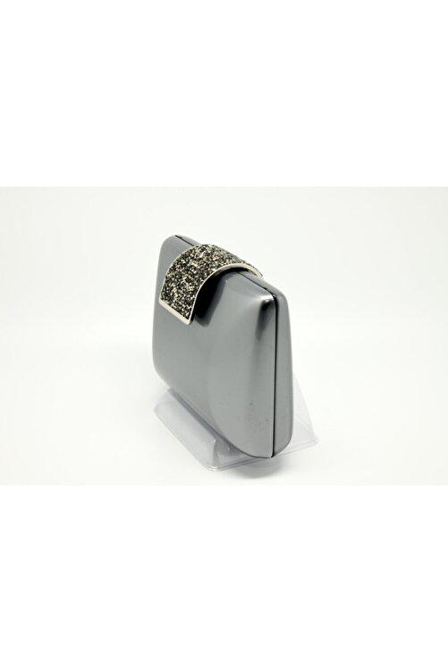 FRANDAMI Kadın Gri Gümüş Çanta 2