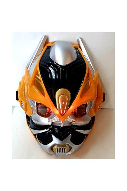 SUDEN Transformers Oyuncak Maske Optimus Bumblebee 2 Li Maske Seti Işıklı Sesli 2