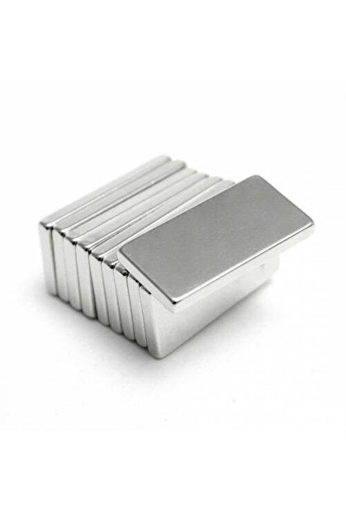 Dünya Magnet 5 Adet 20x10x2 Süper Güçlü Neodyum Mıknatıs Magnet 1