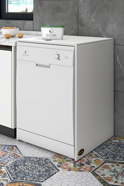 Kenzlife Bulaşık Makinesi Dolabı Berfu Byz 90*70*60 Banyo Ofis 1