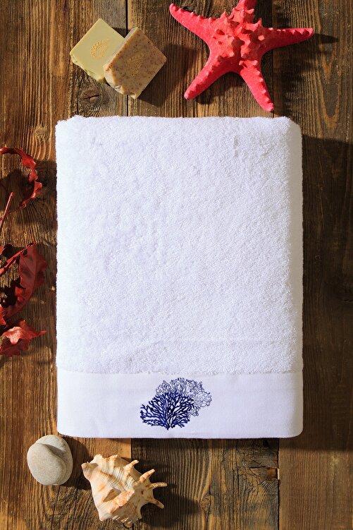 Kiğılı Mercan Nakışlı Banyo Havlusu (90x150) 2