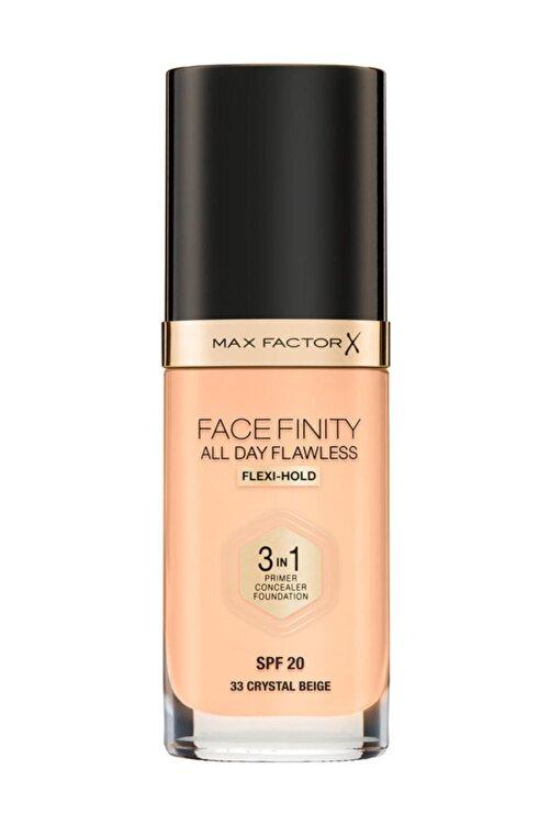 Max Factor Fondöten - FaceFinity All Day Flawless Foundation 33 Crystal Beige 3614225851551 1
