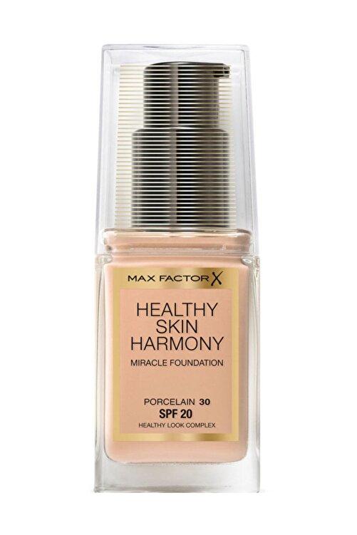 Max Factor Fondöten - Healthy Skin Harmony Miracle Foundation No: 30Porcelain 8005610433042 1