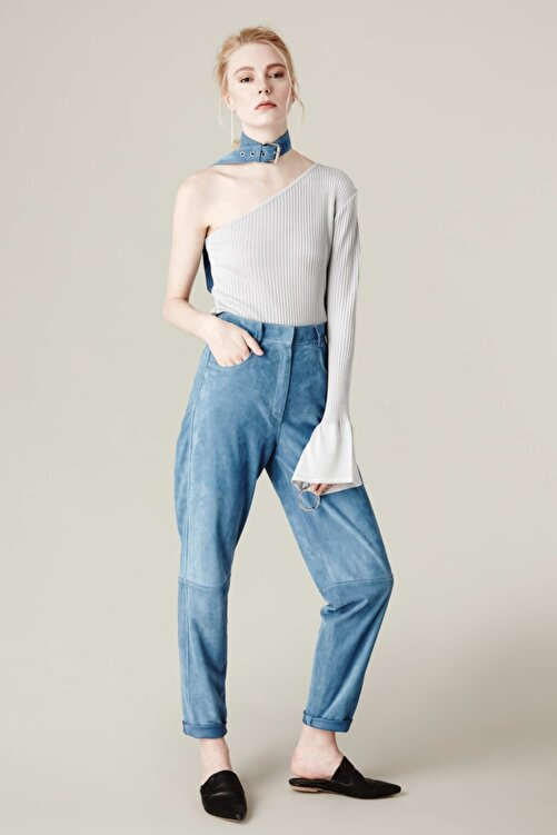 House of OGAN Daisy Suede Pants 1