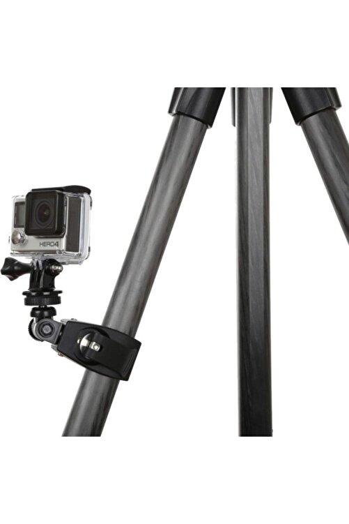 Knmaster Tüm Aksiyon Kameralara Uyumlu Metal Gidon Aparatı + Adaptör 2