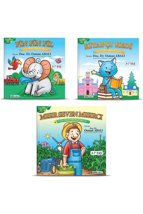 Adeda Yayınları Osman Abalı Dikkati Güçlendirme Gelişimsel 3'lü Çocuk Hikaye Seti 1