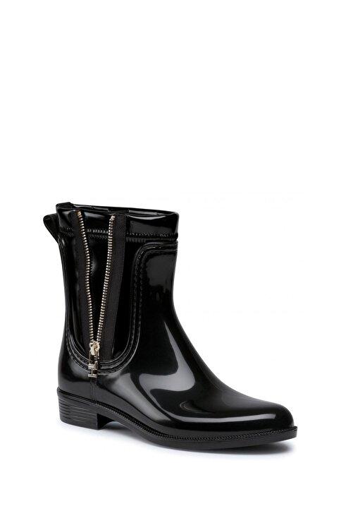 Tommy Hilfiger Kadın Siyah Rainboot Yağmur Botu Fw0fw05180 1