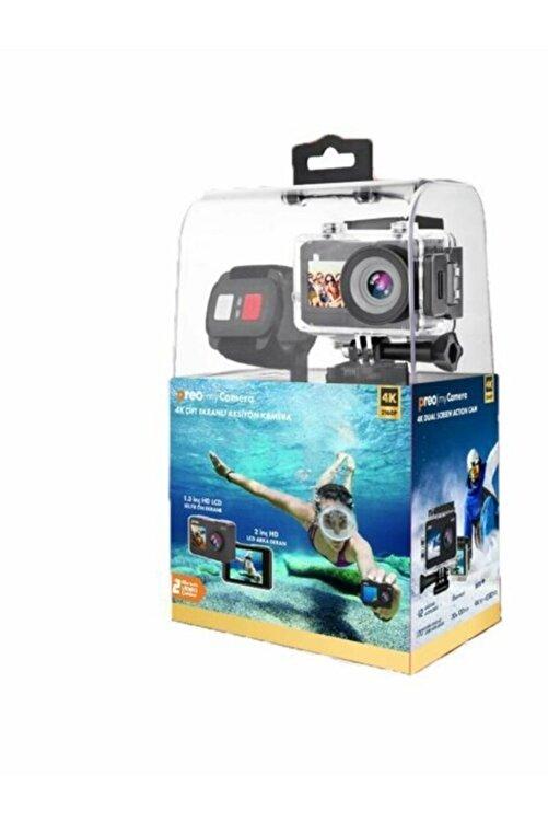 Preo My Camera Pmc-07 4k Çift Ekranlı Aksiyon Kamera 1