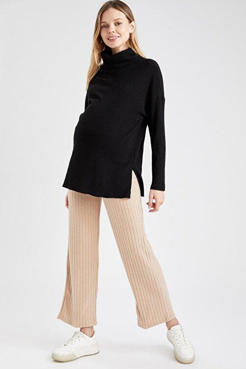 DeFacto Kadın Palazzo Örme Hamile Pantolon 1
