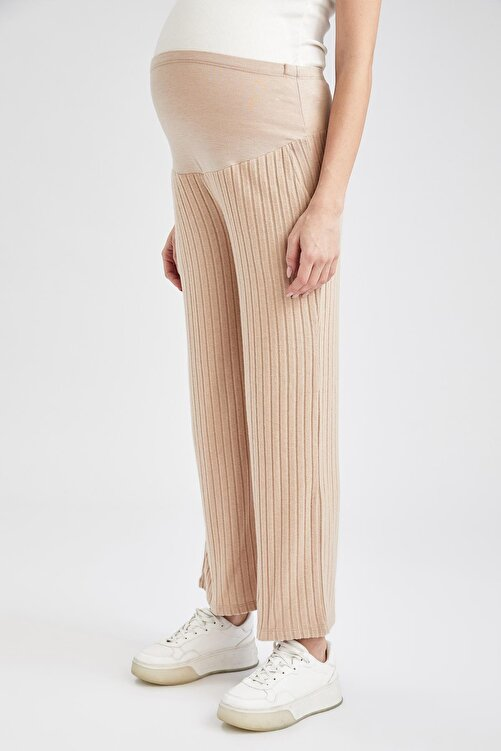 DeFacto Kadın Palazzo Örme Hamile Pantolon 2