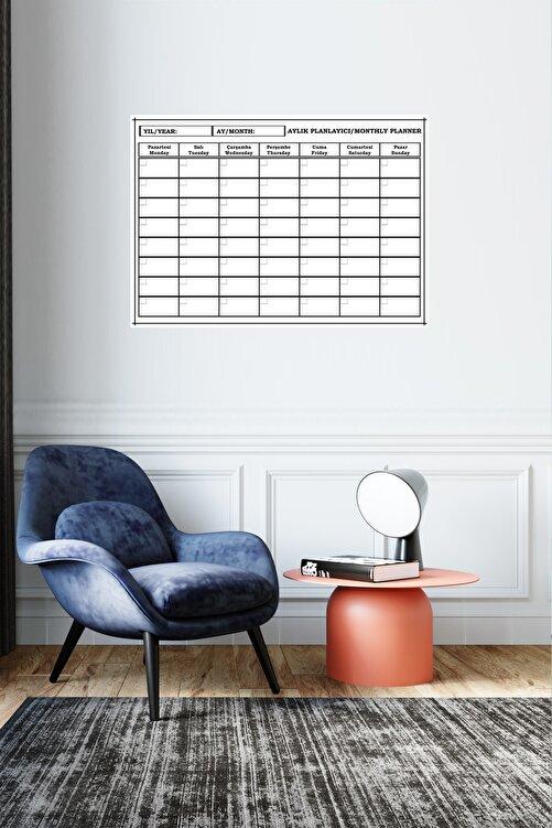 Inn Design Pack Planlayıcı Silinebilir Kağıt  50 x 70  + 4 Adet Tahta Kalemi 2