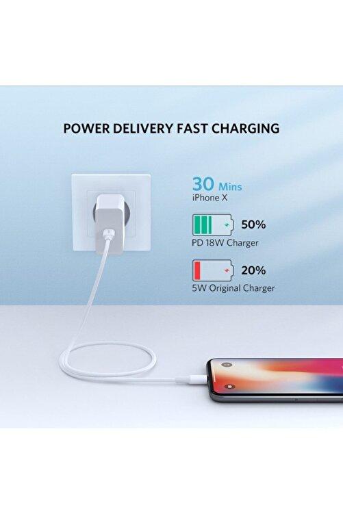 Ugreen Type-c Lightning Iphone Hızlı Şarj Kablosu 1 Metre 2