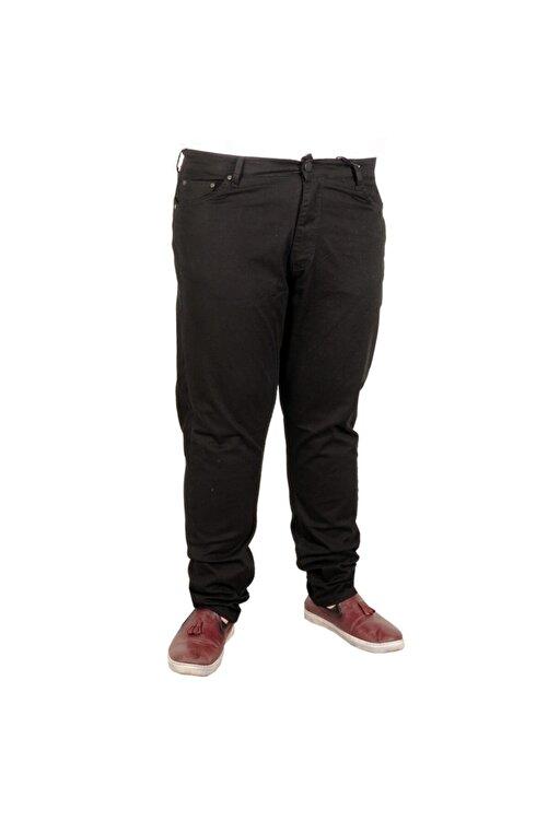 ModeXL Erkek Pantolon Keten Neptun Klasik 20902 Siyah 1