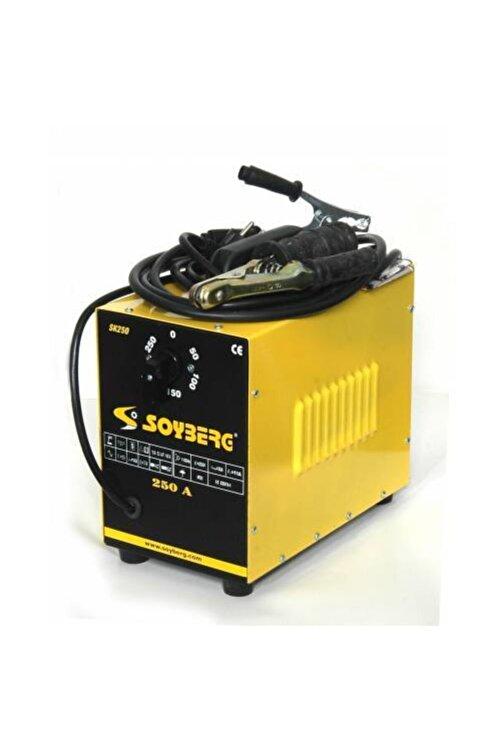 Soyberg 250 Amper Profesyonel Tip Kademeli Çanta Kaynak Makinesi 1