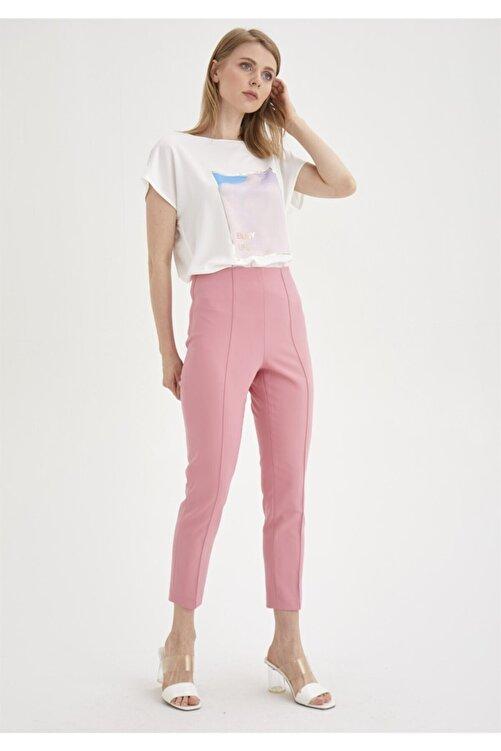 Chima Nervürlü Streç Pantolon 1