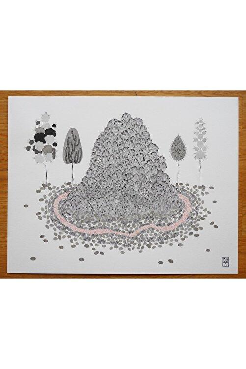 Başak Kademoğlu Hibrit Hayvanlar Serisi 8, 22x28, Kağıt Üzerine Suluboya 1