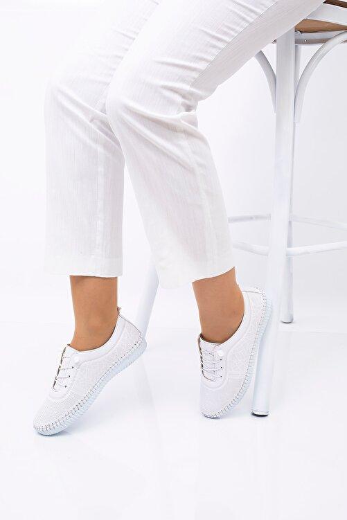 CARIK COMFORT Kadın Beyaz Ayakkabı 1