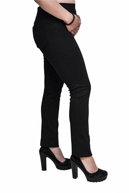 Otto Kadın Siyah Tayt Pantalon 2