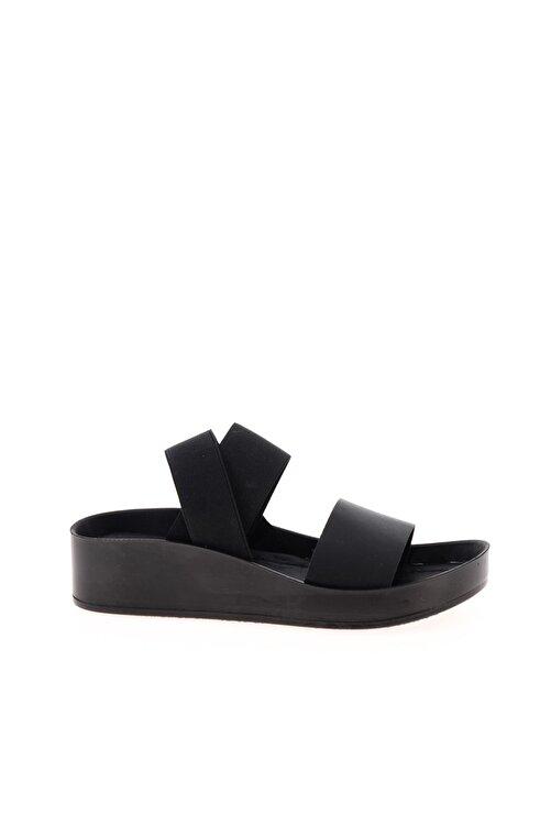 Bambi Hakiki Deri Siyah Kadın Sandalet L0515131003 2