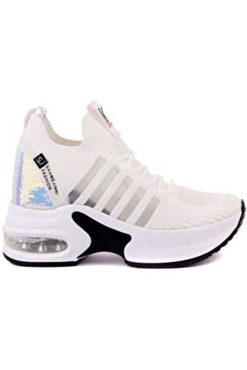 Guja Kadın Beyaz Spor Ayakkabısı 1