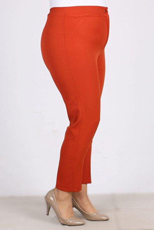 eslamood Kadın  Büyük Beden Klasik Bilek Pantolon 9103 2