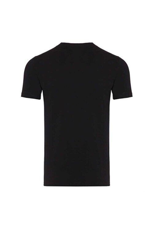 New Balance Erkek Siyah T-shirt 2