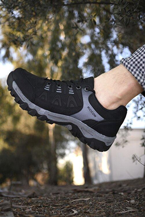 Riccon Siyah Erkek Trekking Ayakkabı 00127053 1